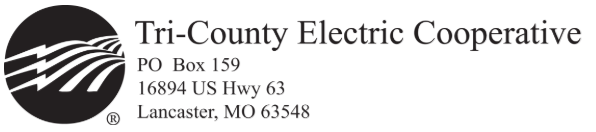 Tri-County Electric Cooperative, Missouri