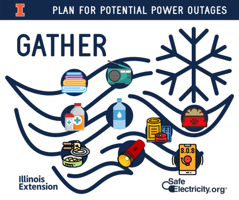 Plan for potential power outages
